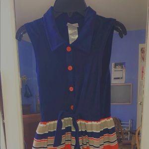 Girls Blue Dress (Size 14)